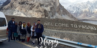 A picture from passu cathaderals in upper Hunza pakistan by Happy Holidays PK Pakistan's No.1 Tour Planner