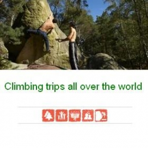 Climbing trips all over the world
