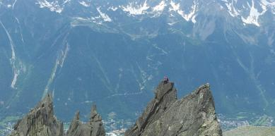 A picture from Chamonix by Boreal