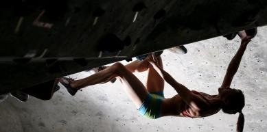 A picture from North Austin Rock Gym (NARG) by Aicacia Young