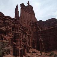 The Titan, Fisher Towers, Moab, UT by Anita Bernhardt