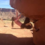 Big Bend Boulders, Moab, UT by Anita Bernhardt