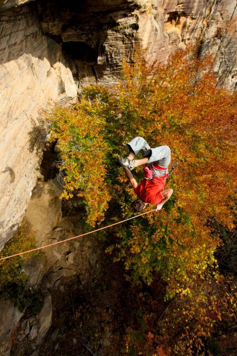 A picture from The Red River Gorge (RRG) by Mike Fuselier