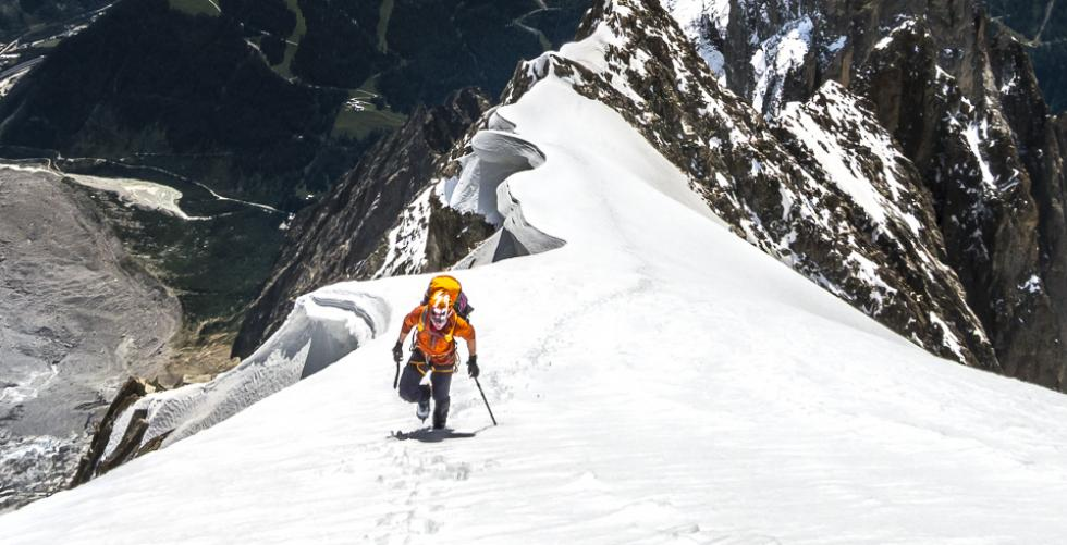Mont Blanc via the Peuterey Integrale in Mont Blanc / Monte Bianco