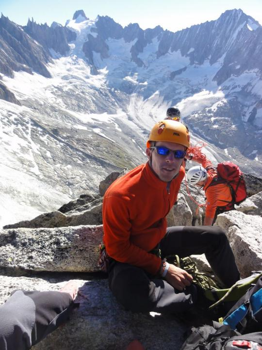 A picture from Aiguille du Moine by Nico Cox
