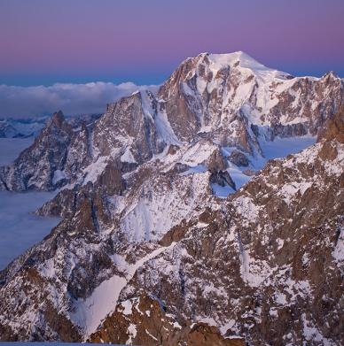 Grandes Jorasses by Jon Griffith