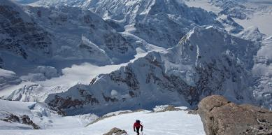 A picture from Denali / Mt. McKinley by Jon Griffith