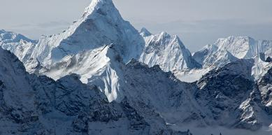 A picture from Ama Dablam by Jon Griffith