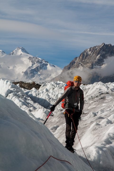 A picture from Aletschgletscher by Michal Keim