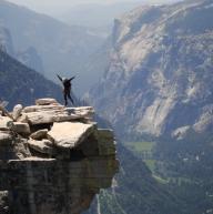 Half Dome, Yosemite Valley by Amrit Ale