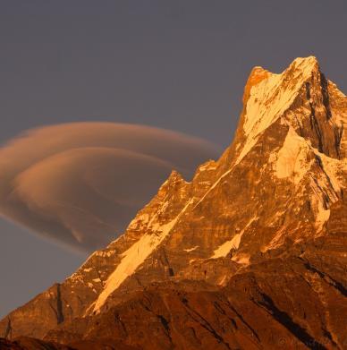 Annapurna Base Camp by Amrit Ale