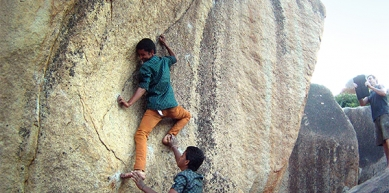 A picture from Hampi by Serious Climbing