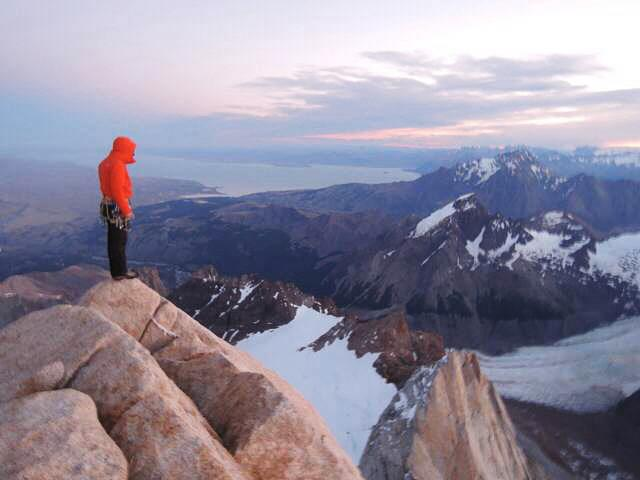 A picture from Cerro Chaltén / Fitz Roy by BANFF Mountain Film Festival