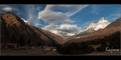 A picture from Tengboche by Michal Keim