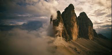 A picture from Tre Cime di Lavaredo by Michi Wohlleben