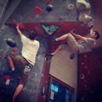 Edinburgh Indoor Climbing Arena (EICA), Ratho by Grant Anderson
