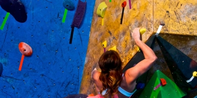 A picture from The Front Climbing Club (Ogden, UT) by Samantha Noll