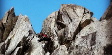 A picture from Petite Aiguille Verte by Etienne Bernard