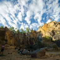 Mountain Quarry by Ramon Fadli