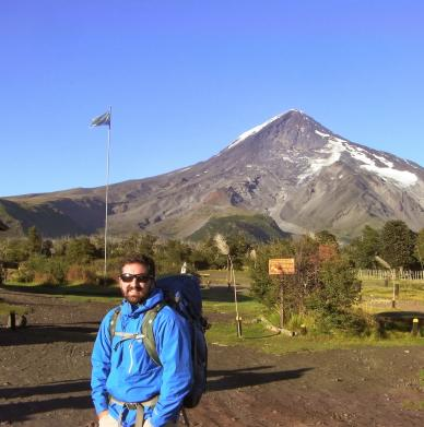 Volcán Lanin by Lucas Martino