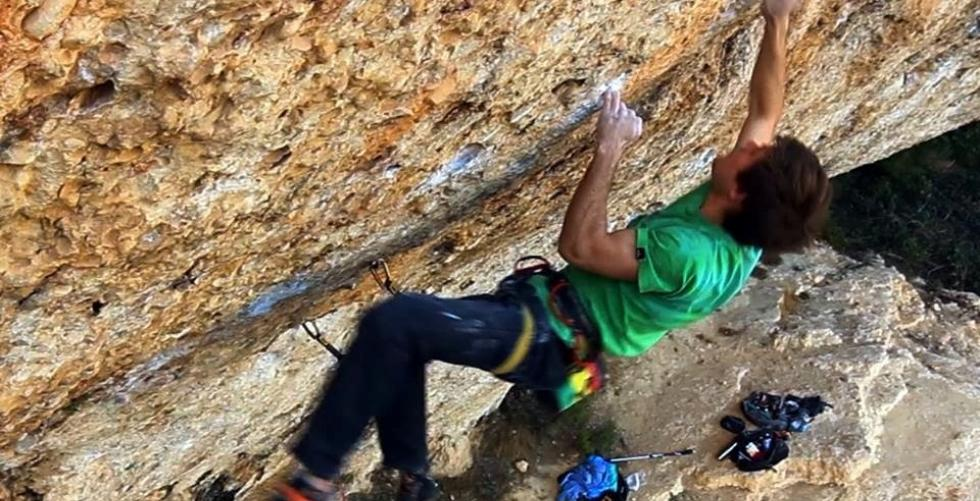 Another 8c project in Margalef. in Margalef