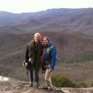 Looking Glass Rock, North Carolina by Reed Gustavsen