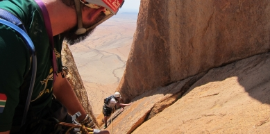 A picture from Spitzkoppe by Jesse van Graan