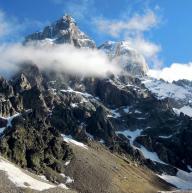 Mt. Ushba - Khergiani Route by Martin Leskovjan