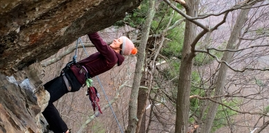 A picture from The Gunks by Michaela Peisger