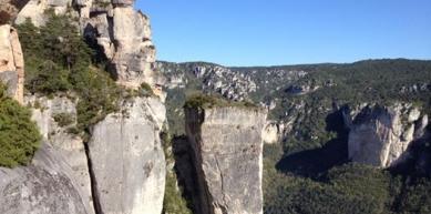 A picture from Gorges de la Jonte by Momal silva