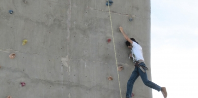 A picture from Ibex Club Climbing Arena by Shehryar Khattak