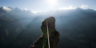 A picture from Lauterbrunnen by Mich the K