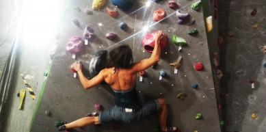 A picture from Tarnogaj Wroclaw Climbing Gym by Aneta Pruszyńska