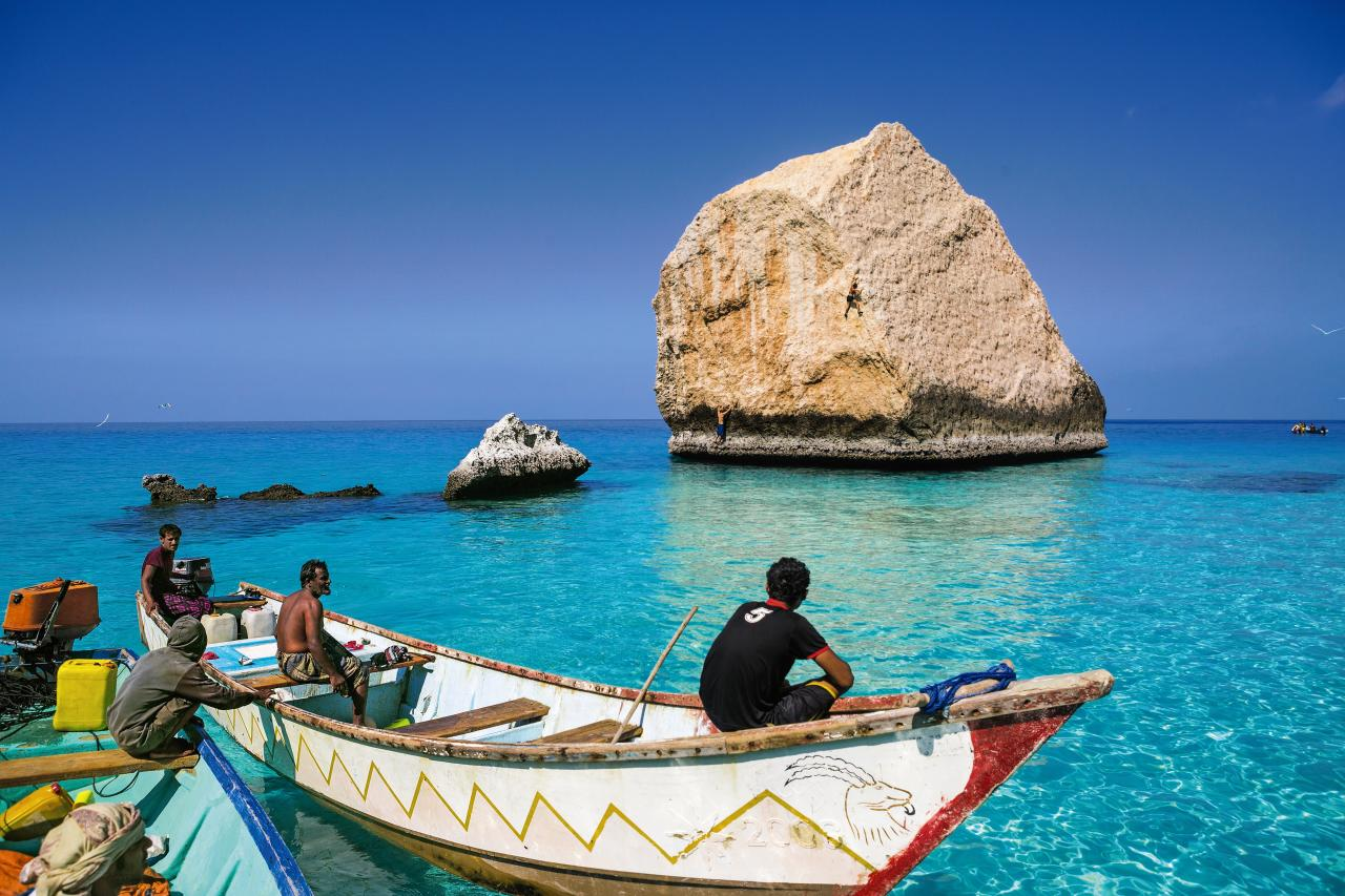 A picture from Gulf of Aden, near Socotra, Yemen by Patagonia