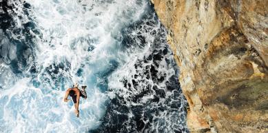 A picture from Cueva del Diablo, Mallorca by Patagonia