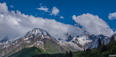 A picture from Mont Blanc / Monte Bianco by Fred Vionnet Grimpisme