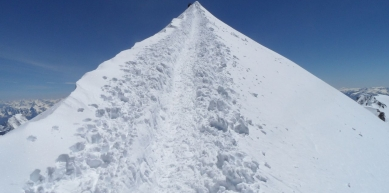 A picture from Mont Blanc / Monte Bianco by Tymek Tutak