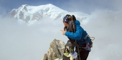 A picture from Chamonix by Lory Carpano
