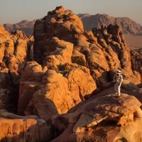 Wadi Rum, Jordan by Montagne  en Scène