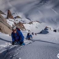 Aiguille du Chardonnet by Montagne  en Scène