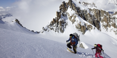A picture from Aiguille verte by MSR / Mountain Safety Research