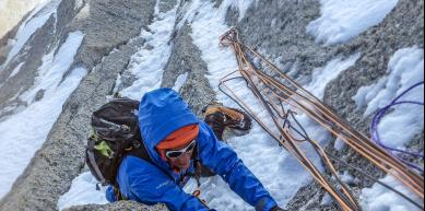 A picture from Chamonix by Morgan Baduel