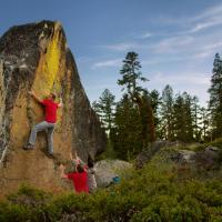 Castle Peaks, CA by Ernie Leal
