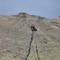 Envers des Aiguilles de Chamonix by Erik Borghans