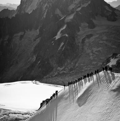 Aiguille du Midi by Maciek Ostrowski