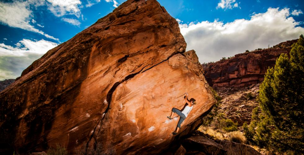 Utah Bouldering in Zion National Park