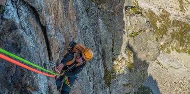 A picture from Perrons de Vallorcine by Fred Vionnet Grimpisme