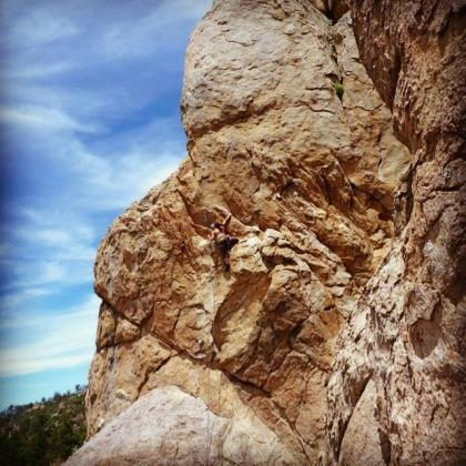 Holcomb Valley Pinnacles  by Maricela Rosales