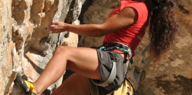 A picture from Climbing & Bouldering Competitions by Andrea Boldrini