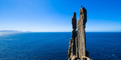 A picture from Cape Raoul, Tasman Peninsula, Tasmania by Simon Carter